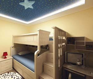 现代简约精美儿童上下床装修效果图