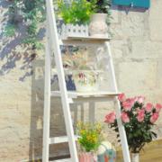 阳台盆栽置物架