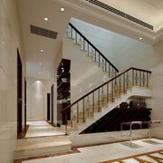 别墅简约现代楼梯