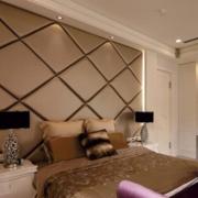 咖啡色的家居卧室