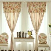 自然风格窗帘装修设计
