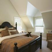 美式阁楼卧室图片