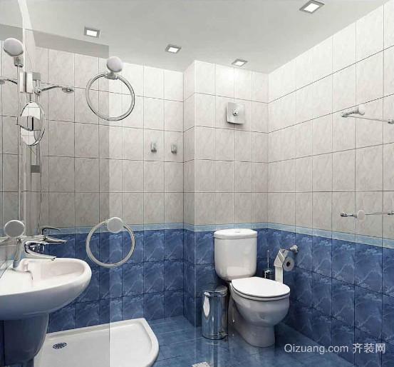 小别墅现代简约风格卫生间装修效果图
