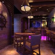 酒吧实木餐桌椅欣赏