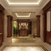 三室一厅美式豪华门厅