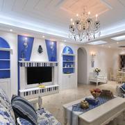室内地中海客厅