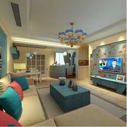 100平米家居客厅图片