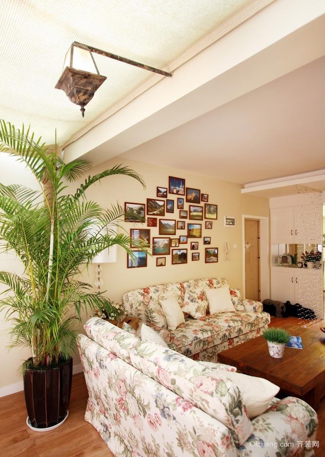 大户型客厅照片墙装修效果图