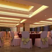 酒店宴会厅餐桌椅