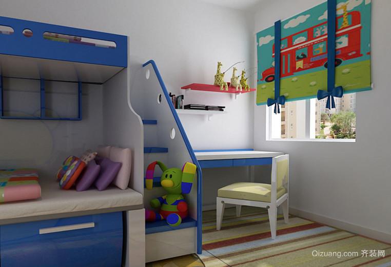 110平米现代风格儿童房设计装修效果图