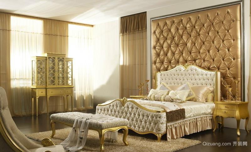 法式新古典卧室装修效果图