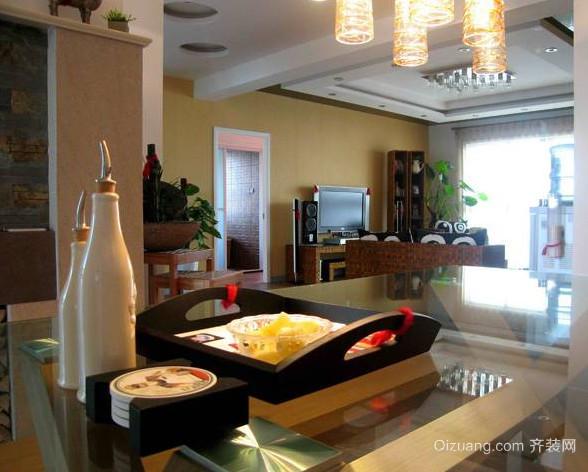异域风情的东南亚风格餐厅装修效果图