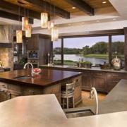 美式厨房吧台欣赏