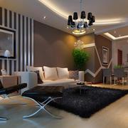 现代简约客厅装潢