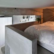 公寓错层卧室展示