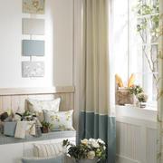 简约系列客厅窗帘图片