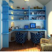 小户型人家书柜