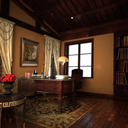 古典优雅书房欣赏