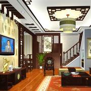 三室二厅客厅楼梯