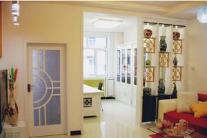 百搭风白色卧室卧室门装修设计效果图