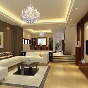 大户型时尚家居客厅