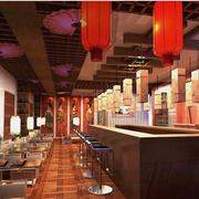 中式风格餐厅装修图片