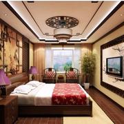 中式韵味的卧室