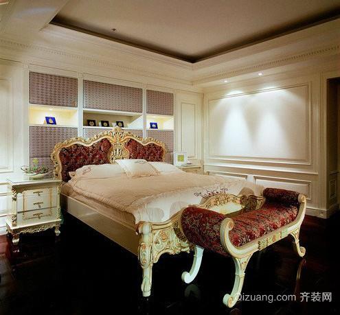 50平米巴洛克风格卧室装修效果图