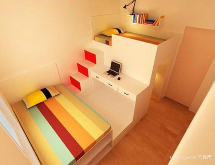 三室一厅小房间装修效果图