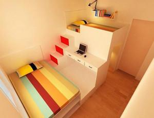 三室一厅彩色榻榻米