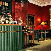 美式典雅酒吧吧台