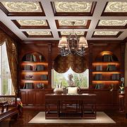 书房豪华吊顶欣赏