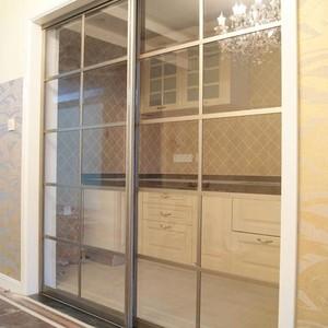 现代厨房推拉门装修效果图