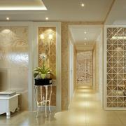 华丽典雅客厅走廊