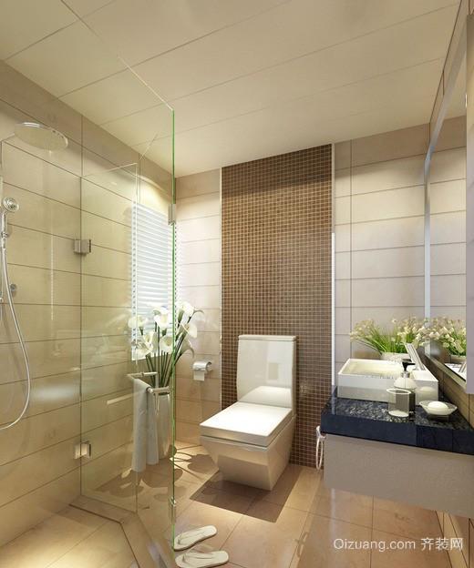 五星级酒店卫生间装修效果图