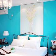 纯净洁白卧室图片