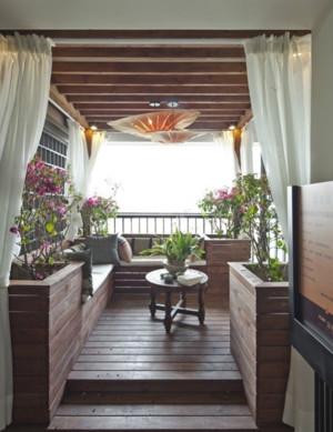 迷人别墅入户花园装修设计效果图