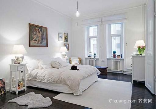两室一厅北欧风格卧室装修效果图