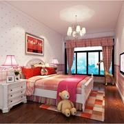 温馨型儿童房效果图