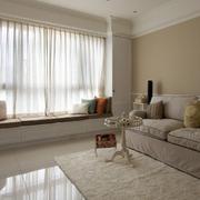 客厅飘窗装修设计