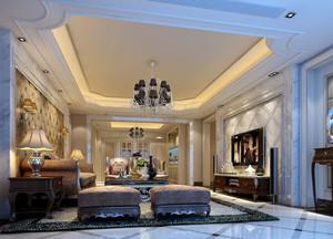 三室一厅大型客厅图片