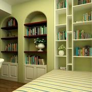 榻榻米书房书架