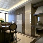 家庭开放式厨房欣赏