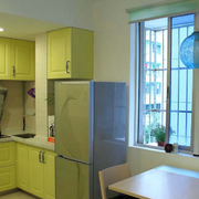 清爽系列厨房装修设计