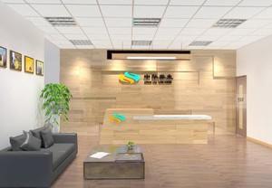 创意公司logo背景墙设计图片展示