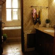 美式卫生间装饰