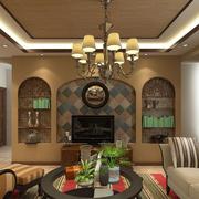 复式楼客厅组合电视柜