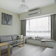 灰白色客厅飘窗