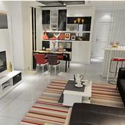 宜家风格客厅设计图片