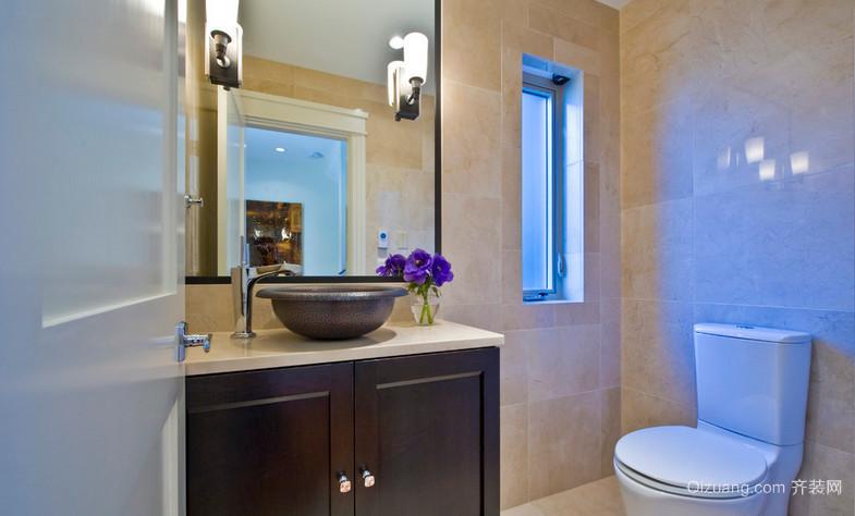 小户型卫生间马克波罗瓷砖装修效果图